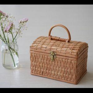🌾🌷👜Wicker Basket Box 👜🌷🌾